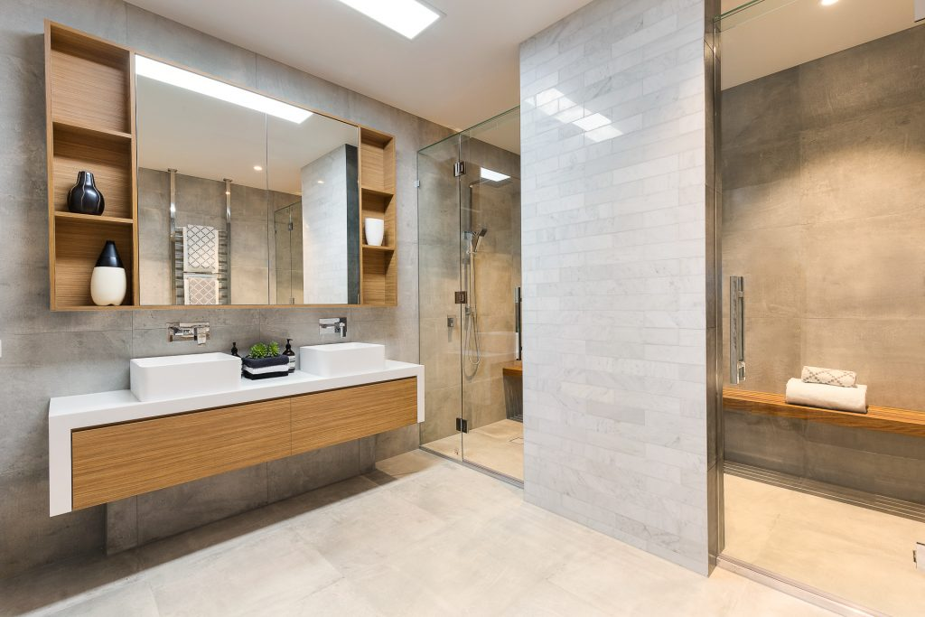 bathroom remodeling shower construction
